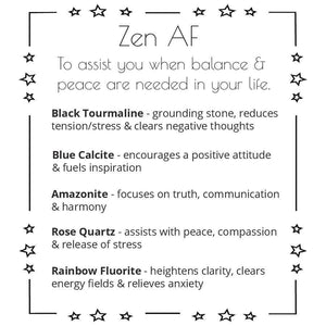 Zen Gemstone Set - Sparkle Rock Pop