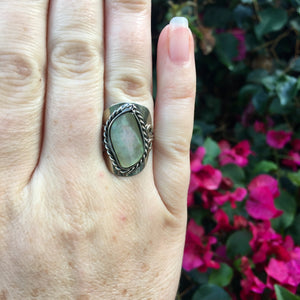 Mother of Pearl Ring - Sparkle Rock Pop