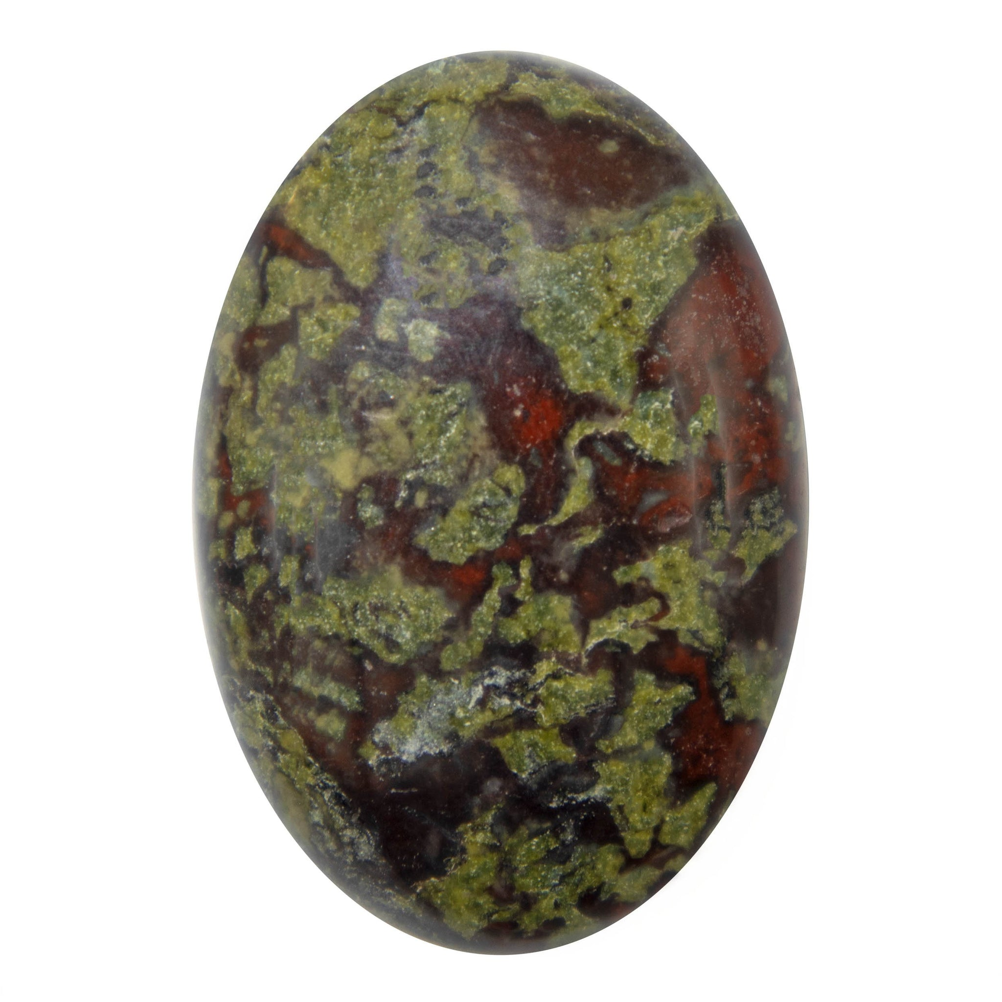 Dragon Blood Jasper Palm Stone - Sparkle Rock Pop