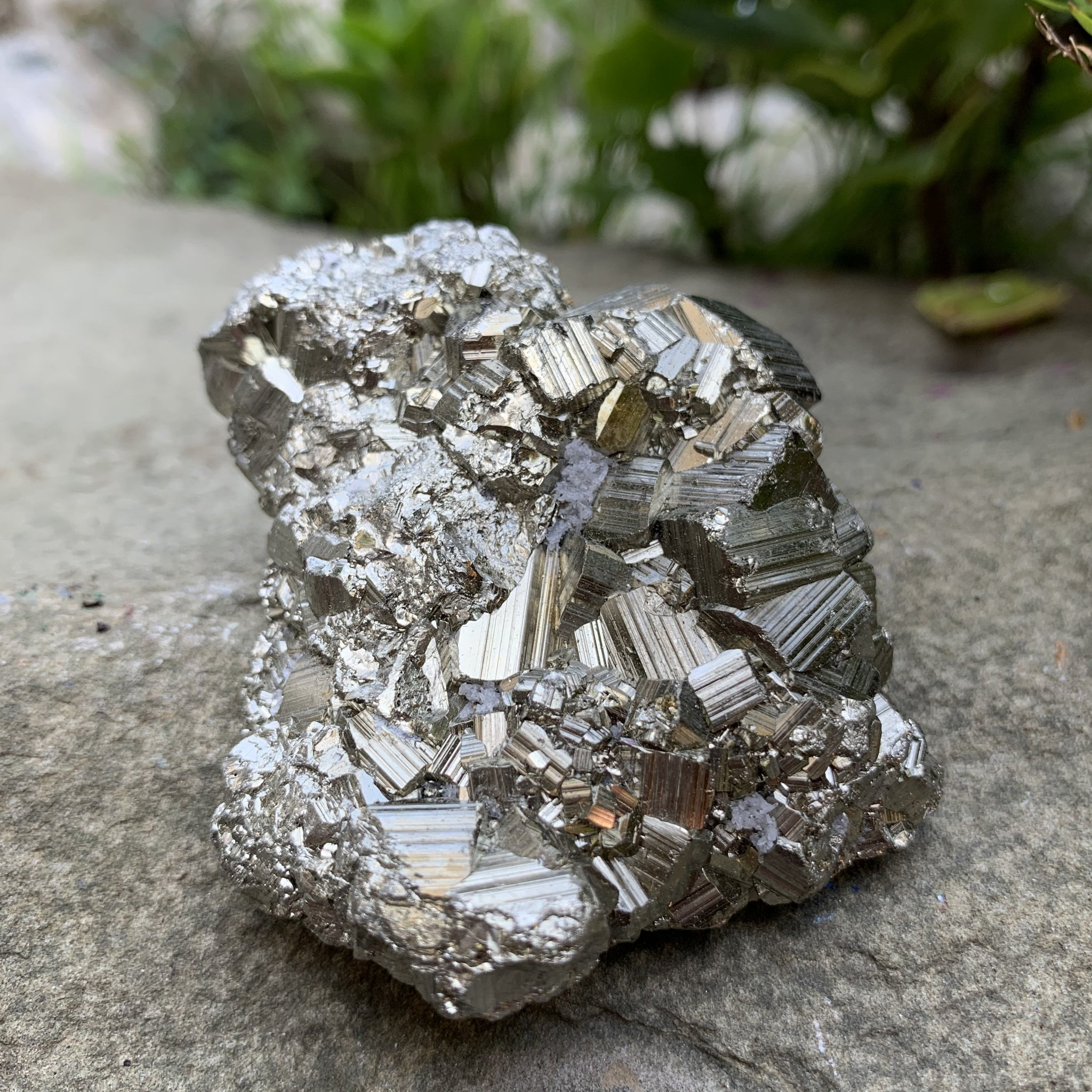 Pyrite Cluster - Sparkle Rock Pop