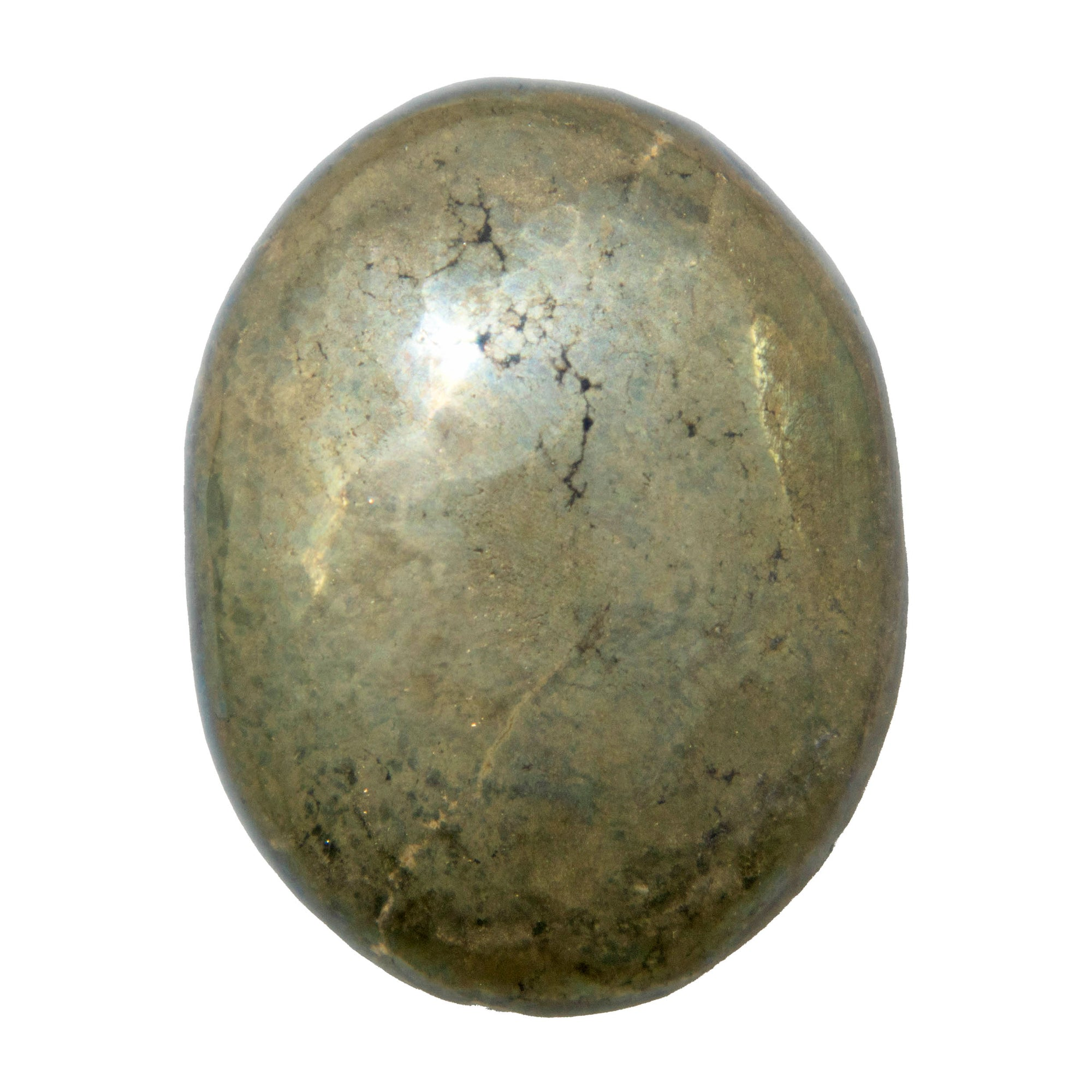 Pyrite Worry Stone - Sparkle Rock Pop