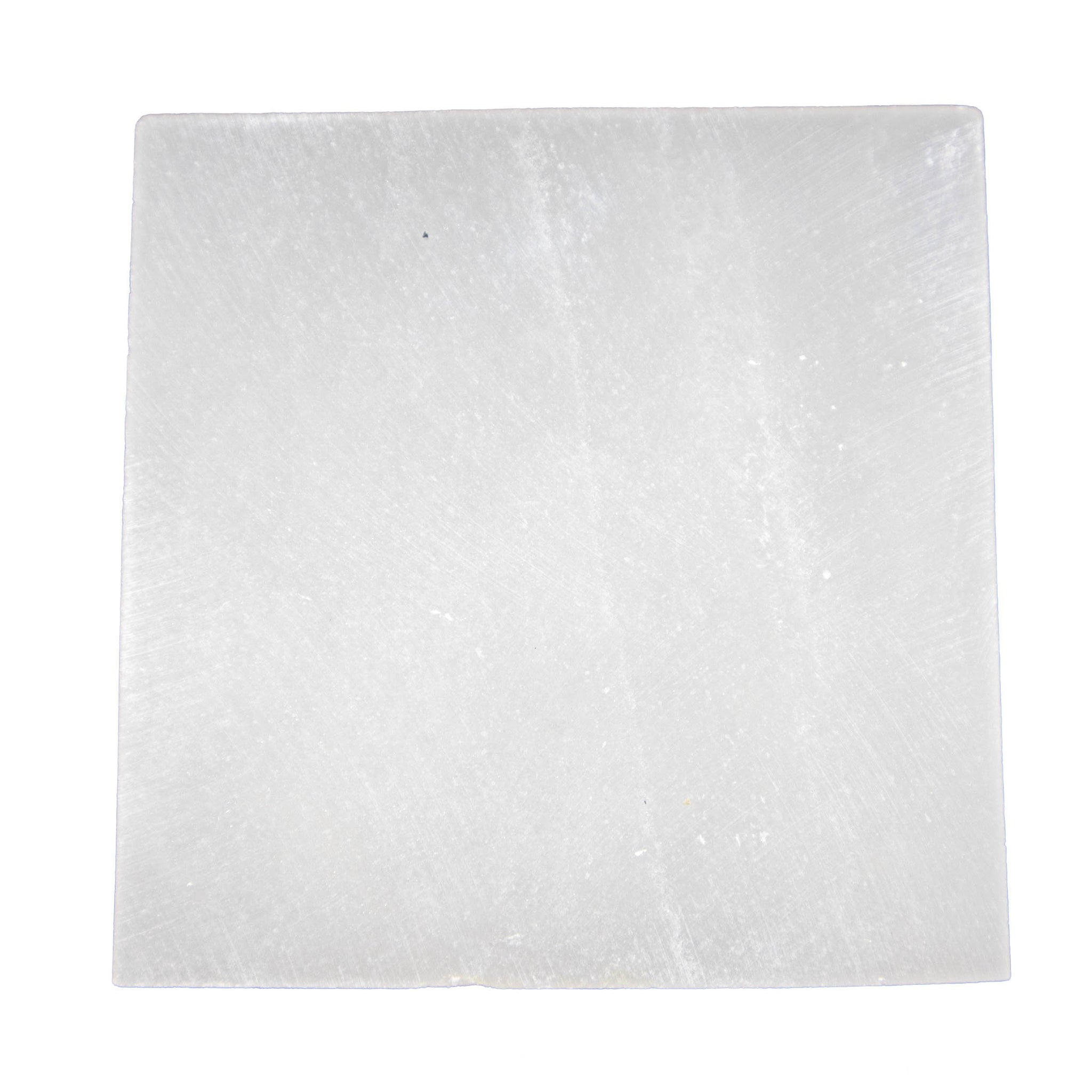 Selenite Square Charging Pad - Sparkle Rock Pop
