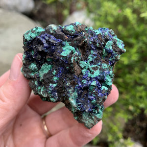 Azurite - Raw Stone Cluster - Sparkle Rock Pop
