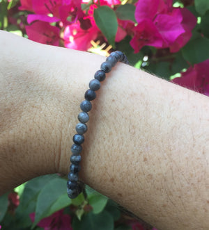 Black Labradorite Bracelet - Sparkle Rock Pop