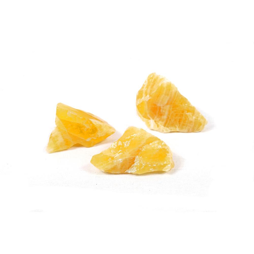 Orange Calcite - Sparkle Rock Pop