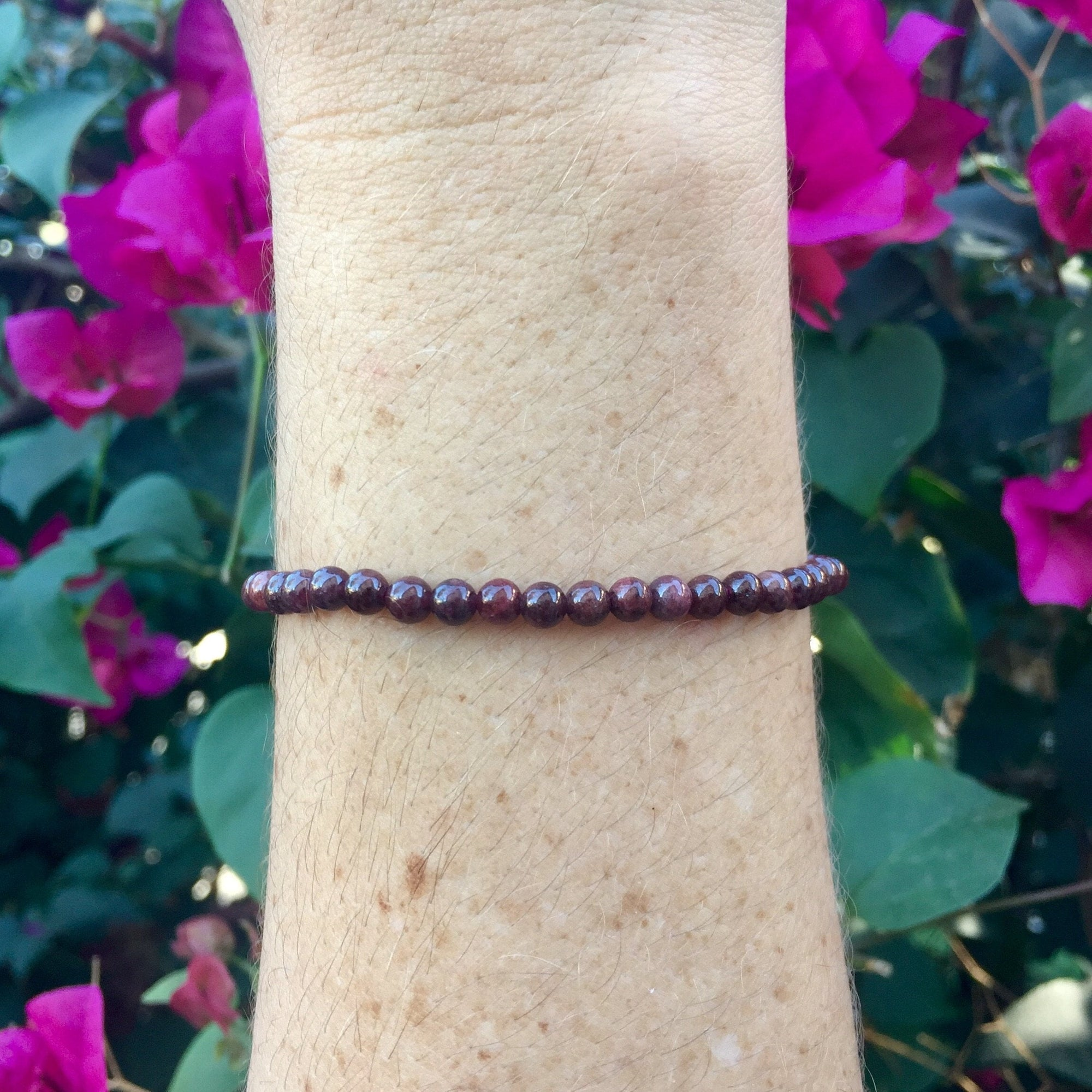 Garnet Bracelet - Sparkle Rock Pop