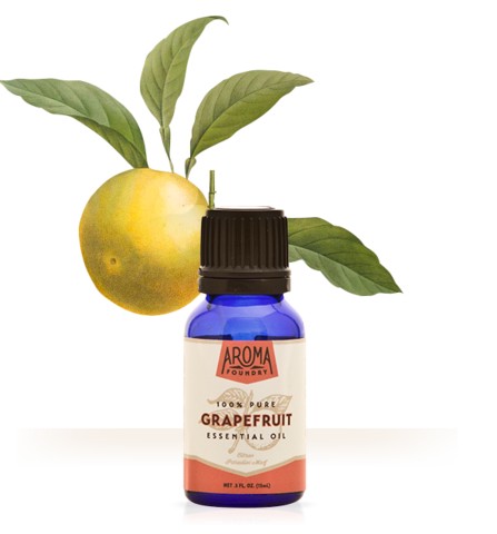 Grapefruit Essential Oil (15 ml) - Sparkle Rock Pop