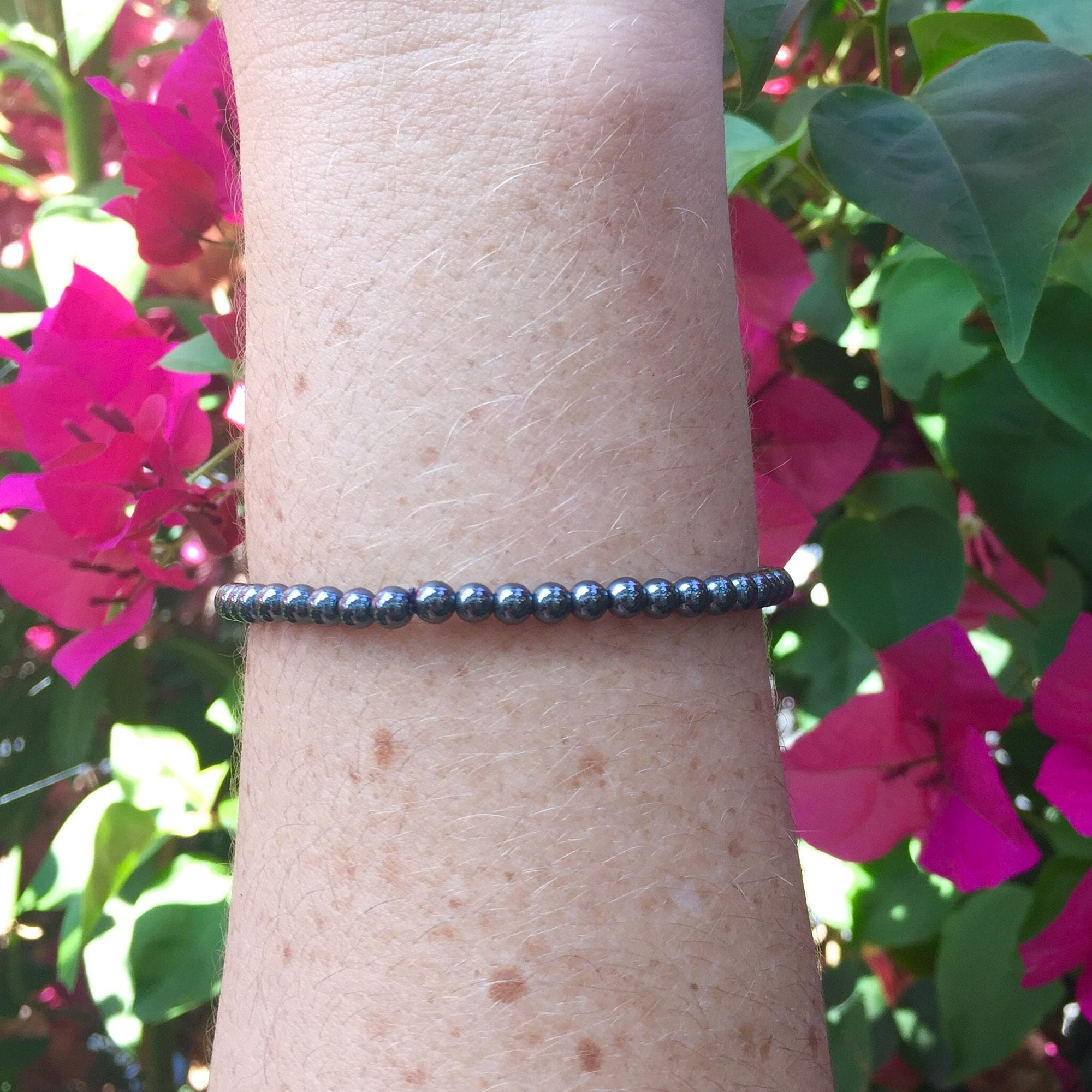 Hematite Bracelet - Sparkle Rock Pop