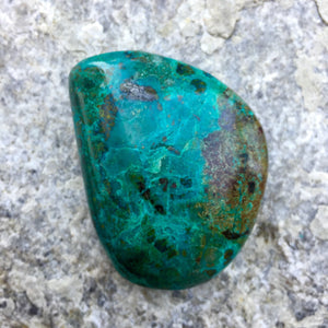 Chrysocolla Crystal - Sparkle Rock Pop