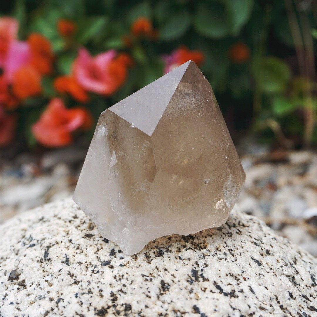 Smoky Quartz Point - Sparkle Rock Pop