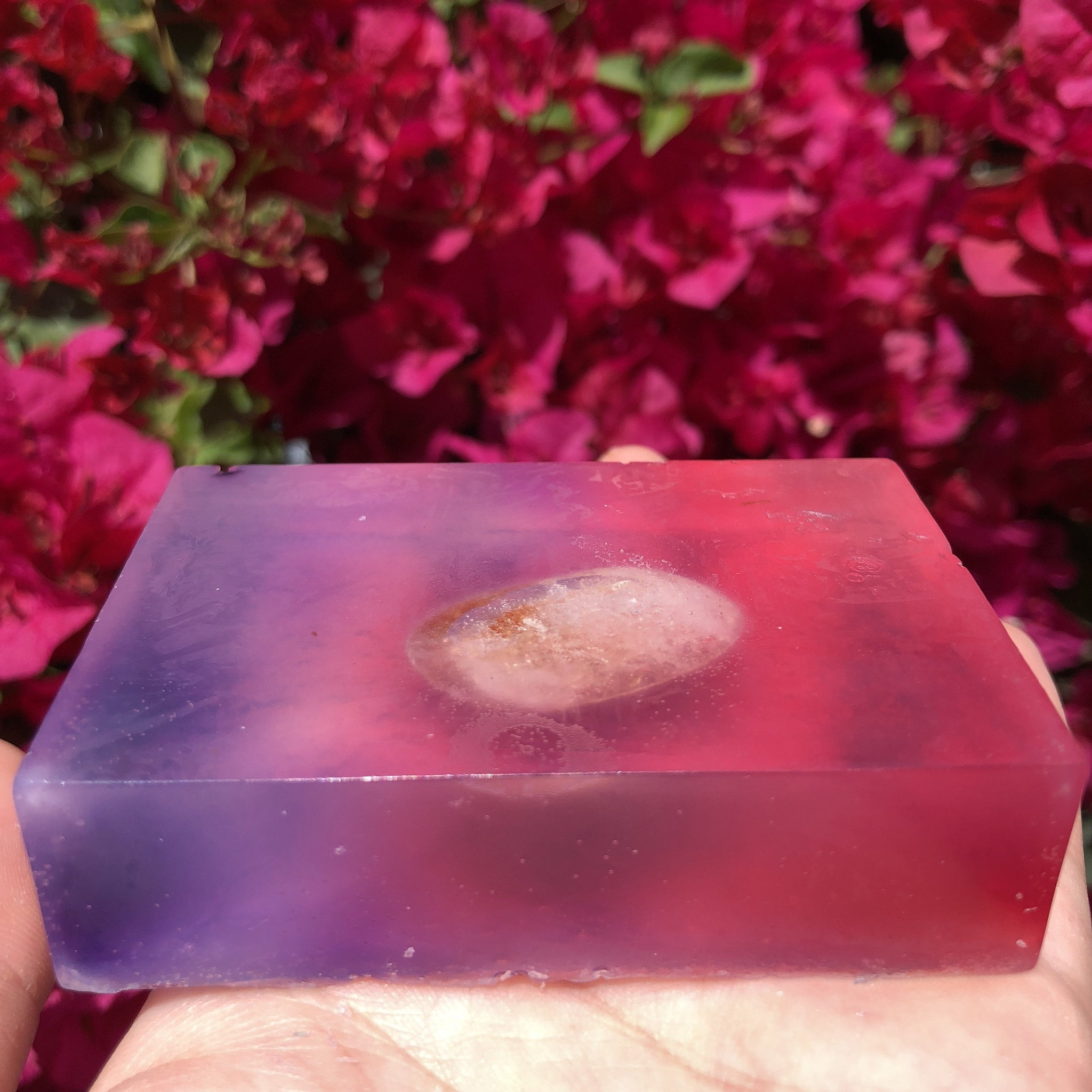 Citrine Crystal Goddess Soap by Sparkle Rock Pop - Sparkle Rock Pop