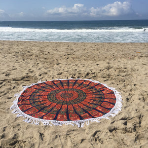 Mandala Tapestry - Multi Petal - Sparkle Rock Pop
