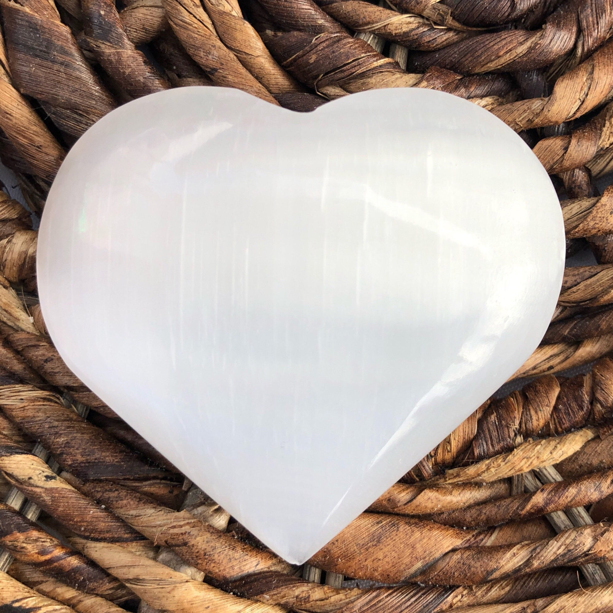 Selenite Heart - Sparkle Rock Pop