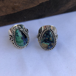 Azurite Ring - Sparkle Rock Pop