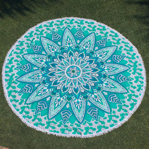 Mandala Tapestry - Flower Power - Sparkle Rock Pop