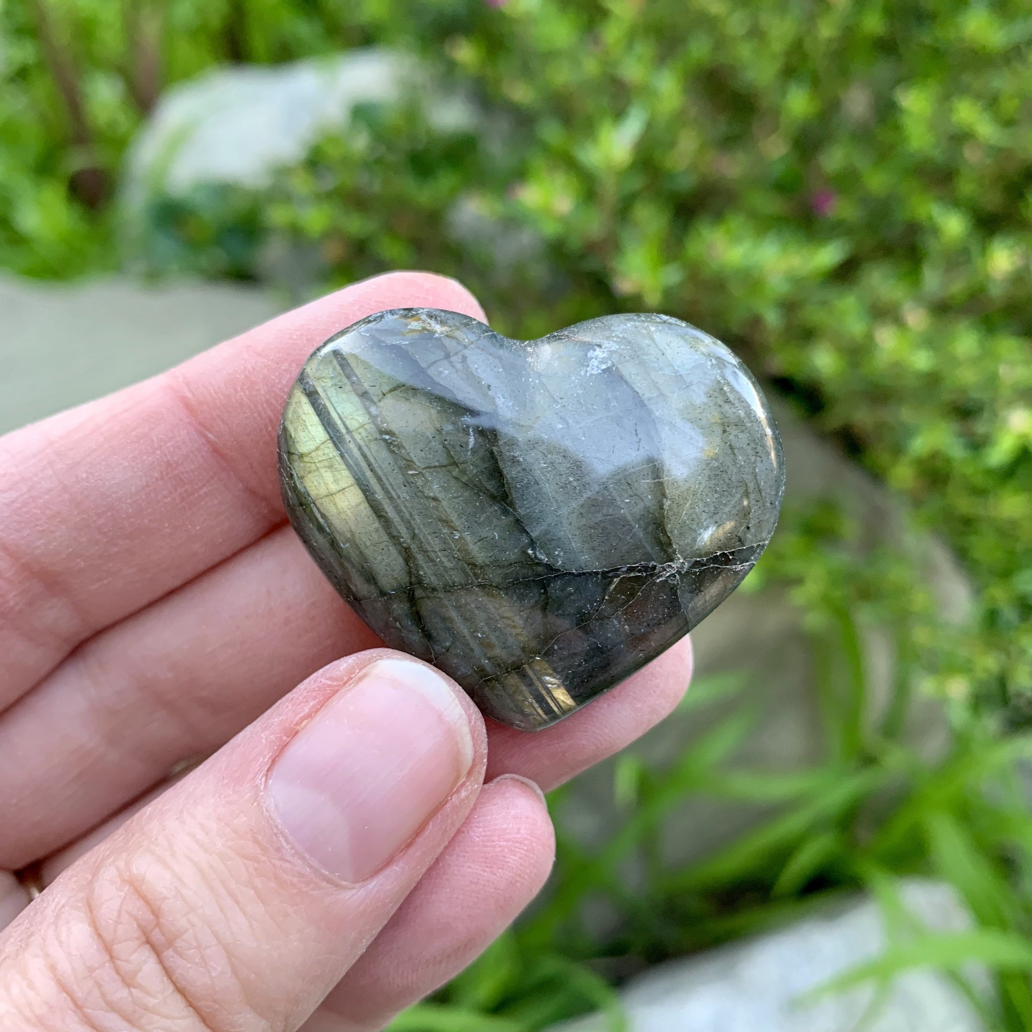 Labradorite Heart - Sparkle Rock Pop