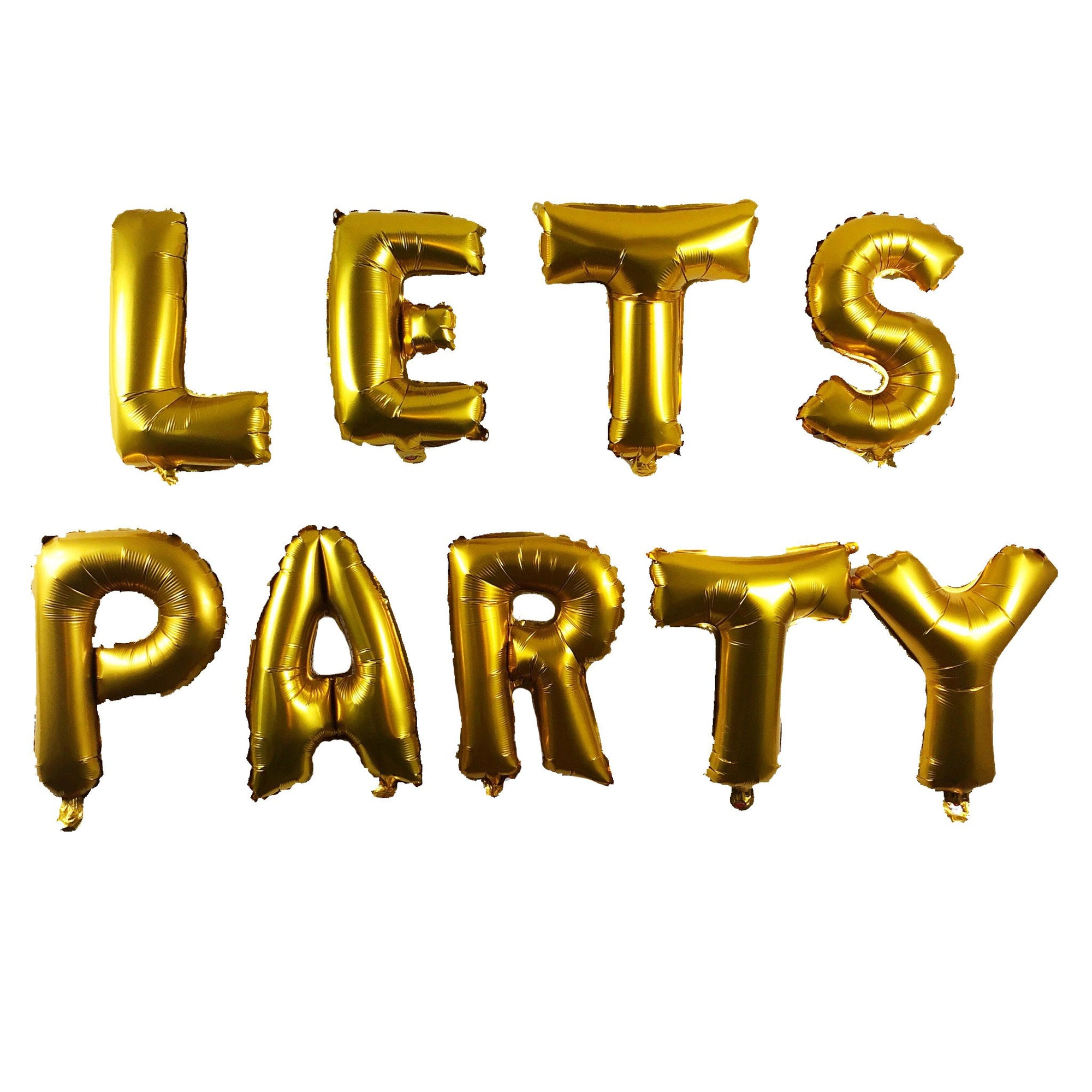 """LETS PARTY"" Balloon Pack - Sparkle Rock Pop"