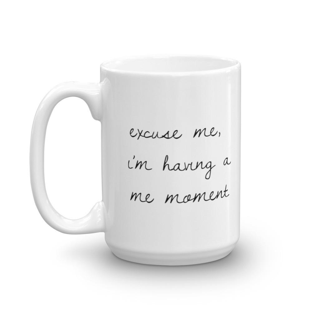 Excuse Me Mug (holds 15 oz) - Sparkle Rock Pop
