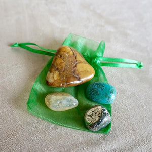 Money and Abundance Gemstone Set - Sparkle Rock Pop