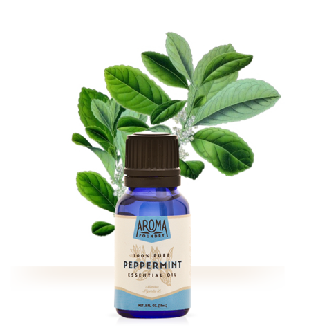 Peppermint Essential Oil (15 ml) - Sparkle Rock Pop
