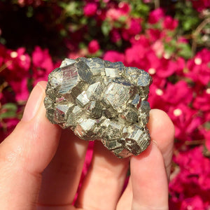 Pyrite Cluster Nugget - Sparkle Rock Pop