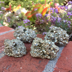 Pyrite Raw Cluster - Sparkle Rock Pop