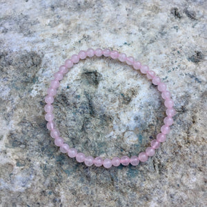 Rose Quartz Bracelet - Sparkle Rock Pop