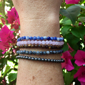 Sodalite Bracelet - Sparkle Rock Pop