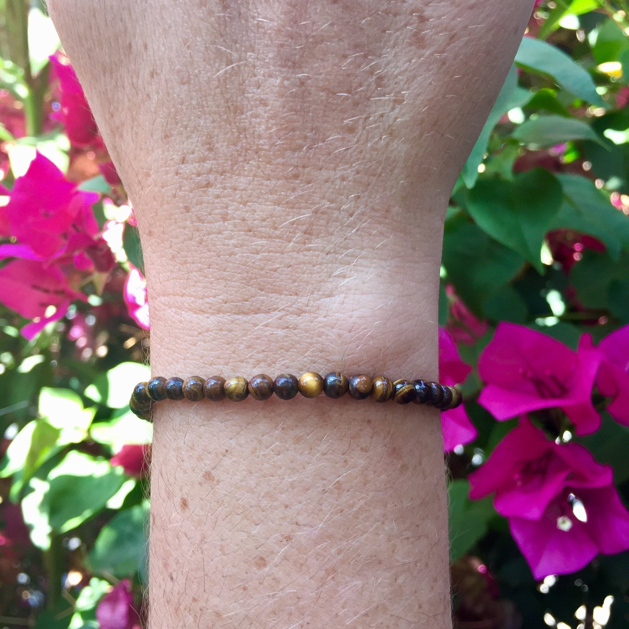 Tiger Eye Bracelet - Sparkle Rock Pop