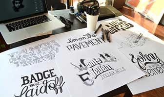 A Hand Lettering Experience