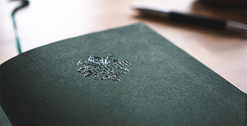Embossed Leather Journals by Epica