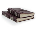 Softest Leather Wrap Journal - Hand Stitched - Black