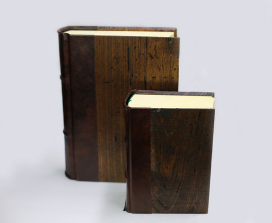World's Thickest Handmade Wood Cover Journals