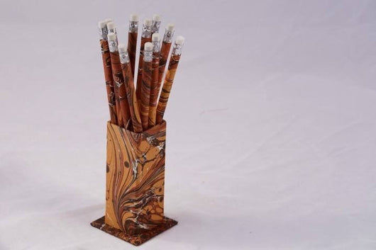 Desk Accessories - Decorative Pencil Set With Graphite Core