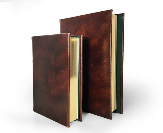 Journals - Classic Handmade Leather Journal - Refillable (3 Sizes)