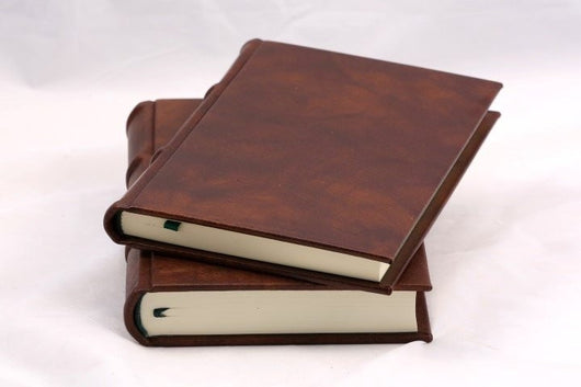 Italian Leather Journal With Unlined Pages