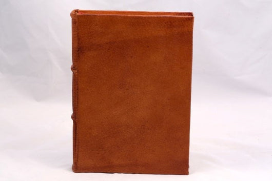 Journals - Colorful Handmade Leather Journal - Camel