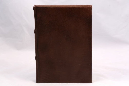 Journals - Colorful Handmade Leather Journal - Espresso