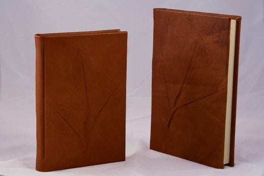 Journals - Nature Inspired Handmade Leather Journal - Camel + 3 Other Colors