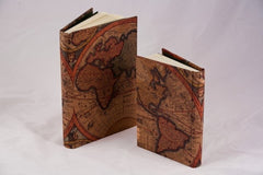 Olde World Map Journal