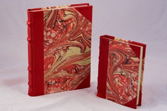 Unique & Colorful Journal - red