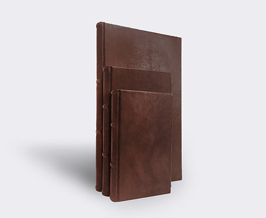 Italian Leather Journal In 3 Sizes