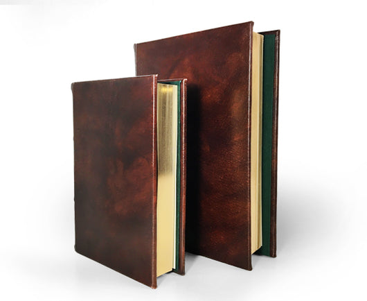 Classic Leather Journal With Gilded Pages - Unlined