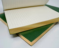 Classic Handmade Leather Journal Refillable page insert with gilded edges