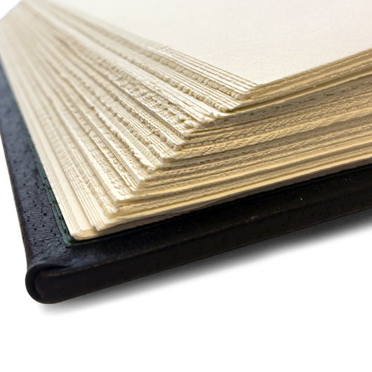 Vegan-Friendly Journal Hardcover with Deckled Edges