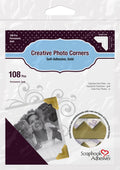 Epica's Gold Self-Adhesive Photo Corners