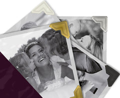 Self-Adhesive Photo Corners