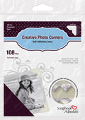 Epica's Ivory Self-Adhesive Photo Corners