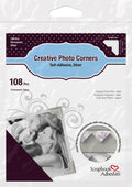 Epica's Silver Self-Adhesive Photo Corners