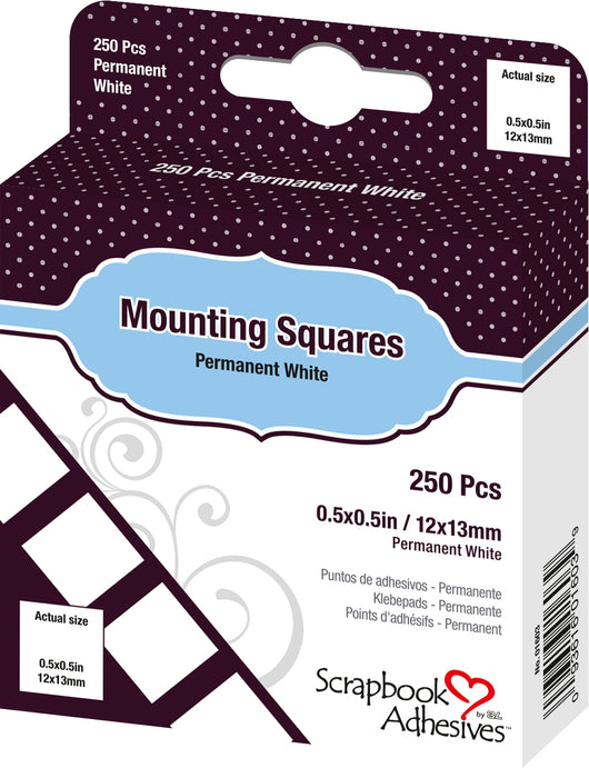 Double-sided sticky photo mounting squares from Epica - 250 squares per pack